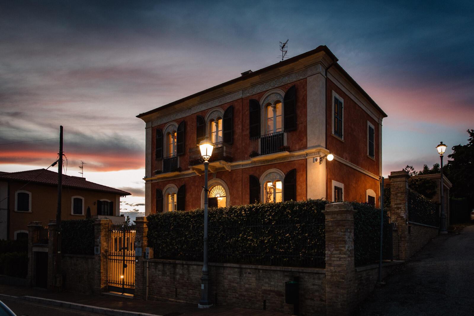 Foto in notturna - B&B Tortoreto Villa Mascitti - Bed and Breakfast Abruzzo