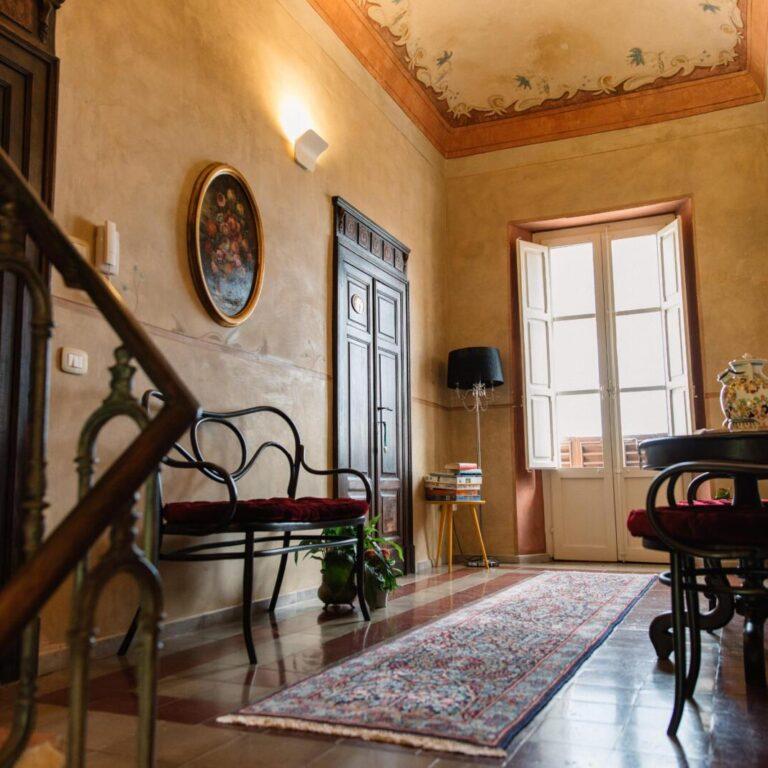 Saletta interna davanti alle camere - B&B Tortoreto Villa Mascitti - Bed and Breakfast Abruzzo